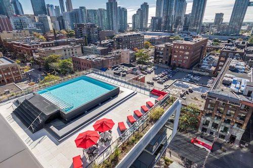 fashion house condo pool